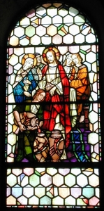 Stained Glass by Mayer of Munich at St. Joseph's Villa Chapel, Richmond, VA, from PAINTINGS ON LIGHT: THE STAINED GLASS WINDOWS OF ST. JOSEPH'S VILLA CHAPEL, available at the AIC Bookstore and from Amazon.com and Kindle