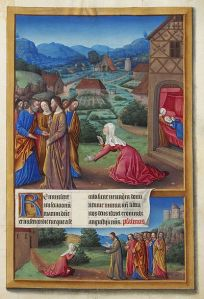 Caananite Woman-Hours-Duc de Berry-15thC