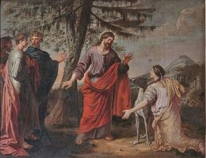 Canaanite Woman-Michael_Angelo_Immenraet-17thC