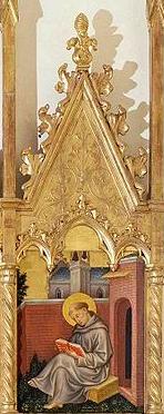 Thomas_Aquinas-Detail-Gentile da Fabriano