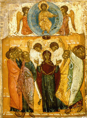 Christ-Ascension-Novgprod-14thC