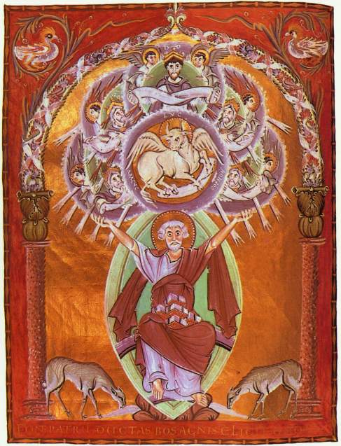 Luke-with Symbol-2nd Version- Gospel of Otto III