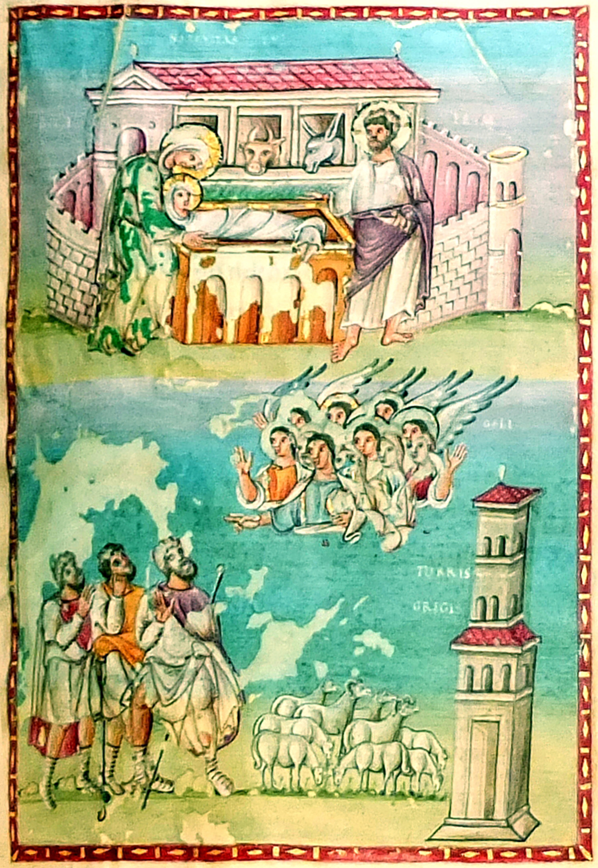 Christ-Nativity & Annun-Egbert_codex-Detail1-PCA