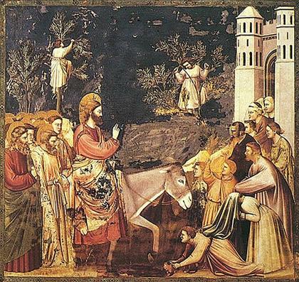 Christ-Entry into Jerusalem-Giotto-Scrovegni Chapel