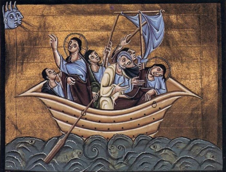 Christ-Calming the Sea-Otto III-11thC-Alt1-PCA