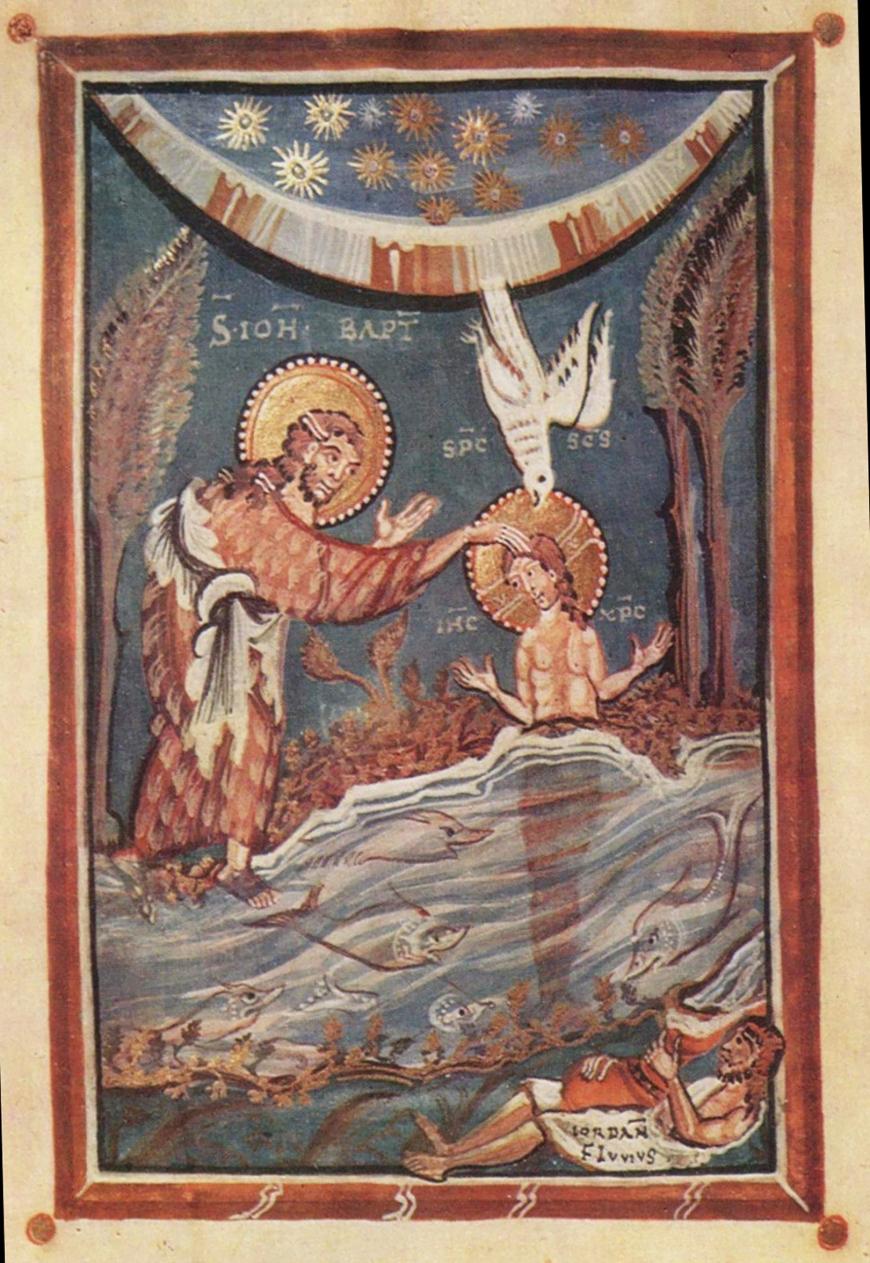 Christ-Baptism-Hitda Codex-Folio3a