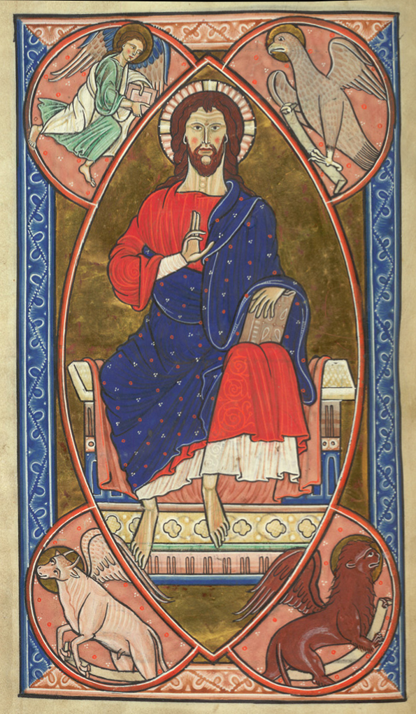 Christ-in Majesty-Ms Royal 1 D X-Fol8v-BritLibr-PCA