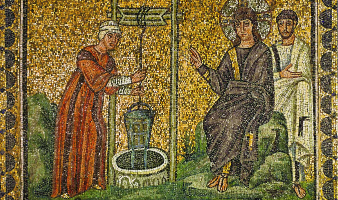 Christ-Samaritan womanatwell-Ravenna-6th C