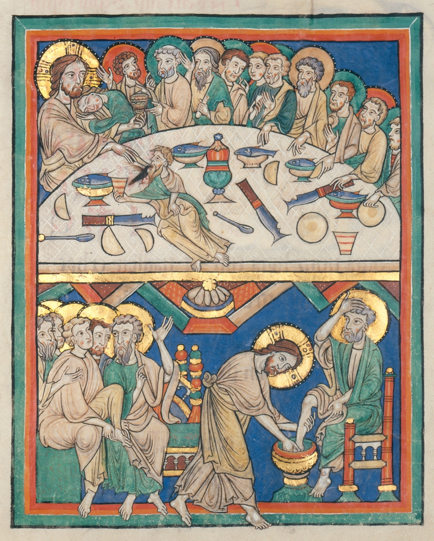 Christ-Last Supper-Codex_Bruchsal_1_28r